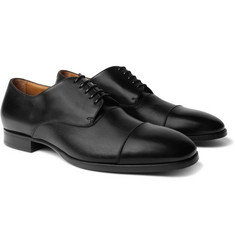 Hugo Boss - Traveler Cap-Toe Leather Derby Shoes