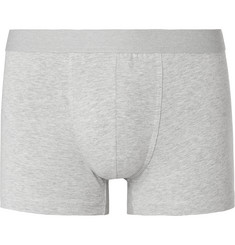 Acne Studios Konrad Mélange Stretch-Cotton Boxer Briefs