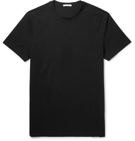 Acne Studios Edvin Stretch-Cotton T-Shirt In Black