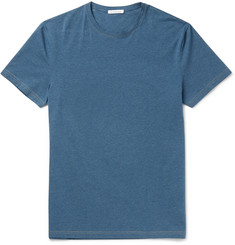Acne Studios Edvin Mélange Stretch-Cotton T-Shirt