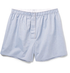 Acne Studios Boxa Cotton-Chambray Boxer Shorts