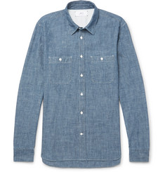 Mr P. - Selvedge Cotton-Chambray Shirt