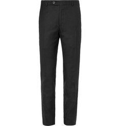 Mr P. - Black Worsted Wool Trousers