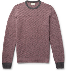 Oliver Spencer Blenheim Mélange Wool Sweater