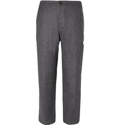 Oliver Spencer Judo Mélange Brushed-Wool Trousers