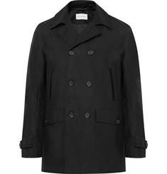 Oliver Spencer Clerkenwell Double-Breasted Cotton-Twill Coat