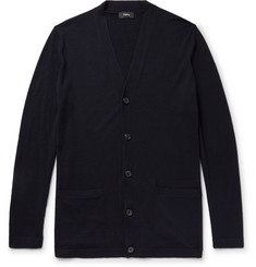Theory Slim-Fit Wool-Blend Cardigan
