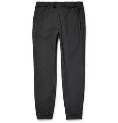 Theory City Snow Tapered Water-Resistant Canvas Trousers