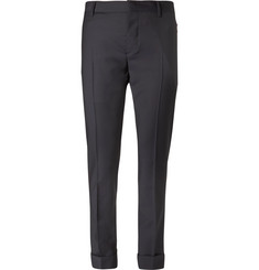 Valentino - Wool and Mohair-Blend Trousers