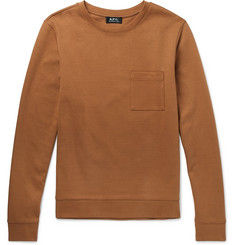 A.P.C. Yogi Cotton-Jersey Sweatshirt