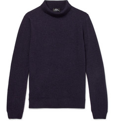 A.P.C. Ryan Wool and Cashmere-Blend Rollneck Sweater