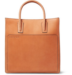 Hopper - Leather Tote Bag