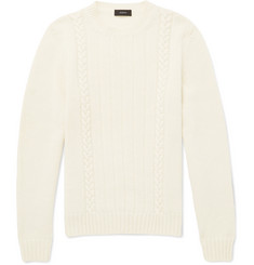 Joseph Cable-Knit Wool Sweater