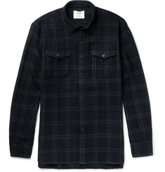 Kent & Curwen Checked Wool Shirt