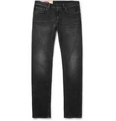 Kent & Curwen Skinny-Fit Washed Stretch-Denim Jeans