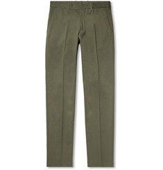 Kent & Curwen Slim-Fit Stretch-Cotton Twill Chinos