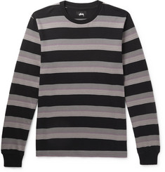 Stüssy Striped Cotton-Jersey T-Shirt