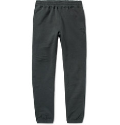 Stüssy Tapered Fleece-Back Cotton-Jersey Sweatpants