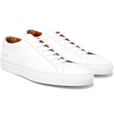 Common Projects - Achilles Saffiano Leather Sneakers