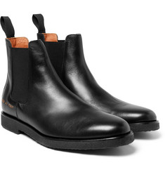 Common Projects - Cross-Grain Leather Chelsea Boots