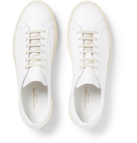 Common Projects Leathers Achilles Retro Leather Sneakers