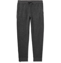 Club Monaco Brushed Cotton-Blend Drawstring Sweatpants