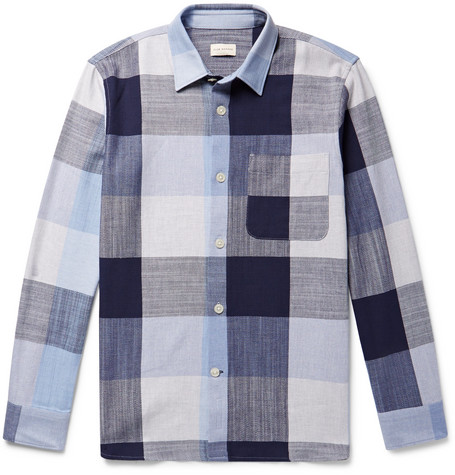 Checked Cotton Shirt Club Monaco Discount Latest Collections Buy Cheap Great Deals Choice Cheap Price 81y6JQN