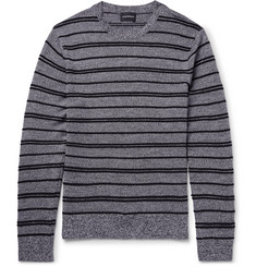 Club Monaco Striped Merino Wool Sweater