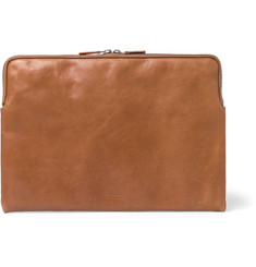 "This Is Ground - Full-Grain Leather 13"" Laptop Sleeve"