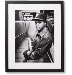 "Sonic Editions - Framed Ice Cube 51 St Print, 17"" x 21"""