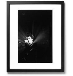 Sonic Editions Framed 1992 Robert Smith in Bradford Print, 17