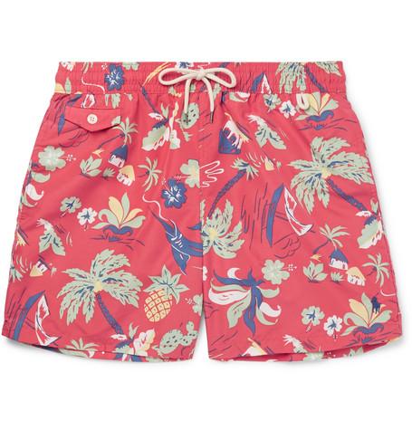 3530147cdc Shoptagr | Mid Length Printed Shell Swim Shorts by Polo Ralph Lauren