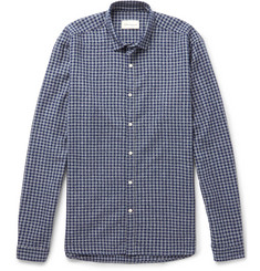 Oliver Spencer - Clerkenwell Checked Brushed-Cotton Shirt