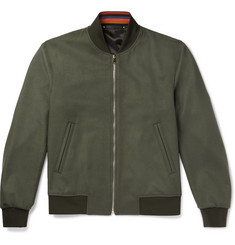 Paul Smith - Wool and Cashmere-Blend Bomber Jacket