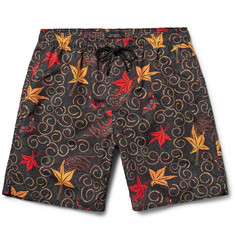 Saturdays NYC Batik Timothy Mid-Length Printed Swim Shorts