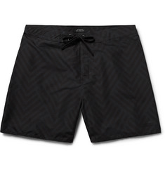 Saturdays NYC - Colin Mid-Length Printed Swim Shorts