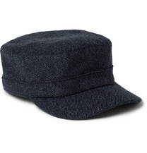 Oslo Mélange Wool And Alpaca-blend Flat Cap Lock & Co Hatters E9aD5lO