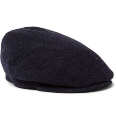 Lock & Co Hatters - Oslo Mélange Wool and Alpaca-Blend Tweed Flat Cap