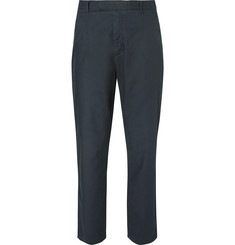 Folk - Tapered Pleated Cotton Trousers