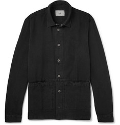Folk Cotton and Linen-Blend Overshirt