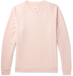 Folk - Rivet Loopback Cotton-Jersey Sweatshirt
