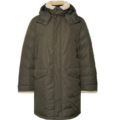 Polo Ralph Lauren Shearling-Trimmed Shell Down Parka