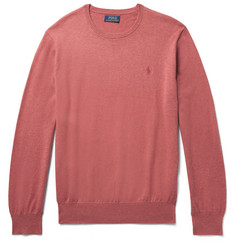 Polo Ralph Lauren Slim-Fit Mélange Pima Cotton Sweater