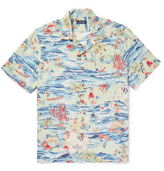 Polo Ralph Lauren - Camp-Collar Printed Voile Shirt