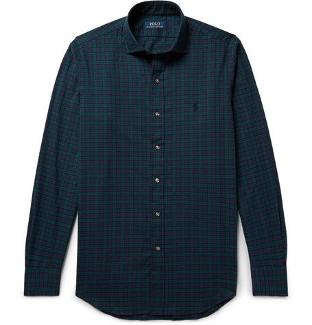 Black And Blue Polo Ralph Lauren Shirt