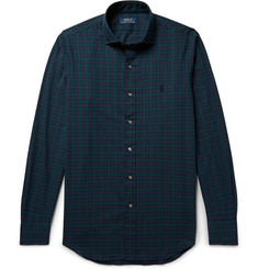 Polo Ralph Lauren - Black Watch Checked Brushed Cotton-Twill Shirt