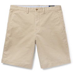 Polo Ralph Lauren Brushed Stretch-Cotton Twill Chino Shorts