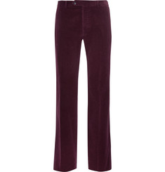 Valentino - Cotton-Corduroy Trousers