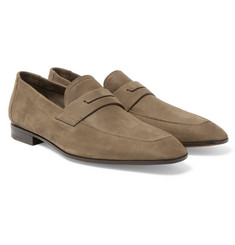 Berluti Luciano Leather Penny Loafers