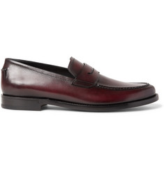 Berluti Gianni Sapienza Leather Loafers